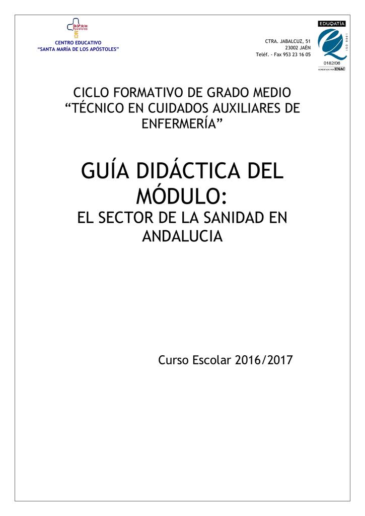 Programación Del Módulo Formativo Centro Educativo Santa María