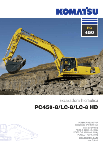 PC450-8/LC-8/LC-8 HD