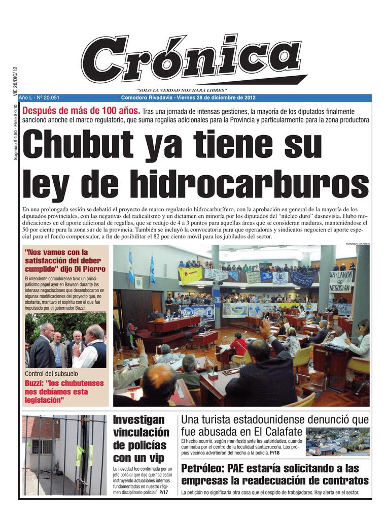 Diario Cronica 28 de diciembre de 2012 (viernes)