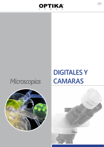Microscopios DIGITALES Y CAMARAS