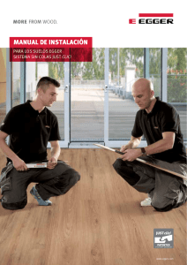 Instrucciones Laminate Flooring Just Clic