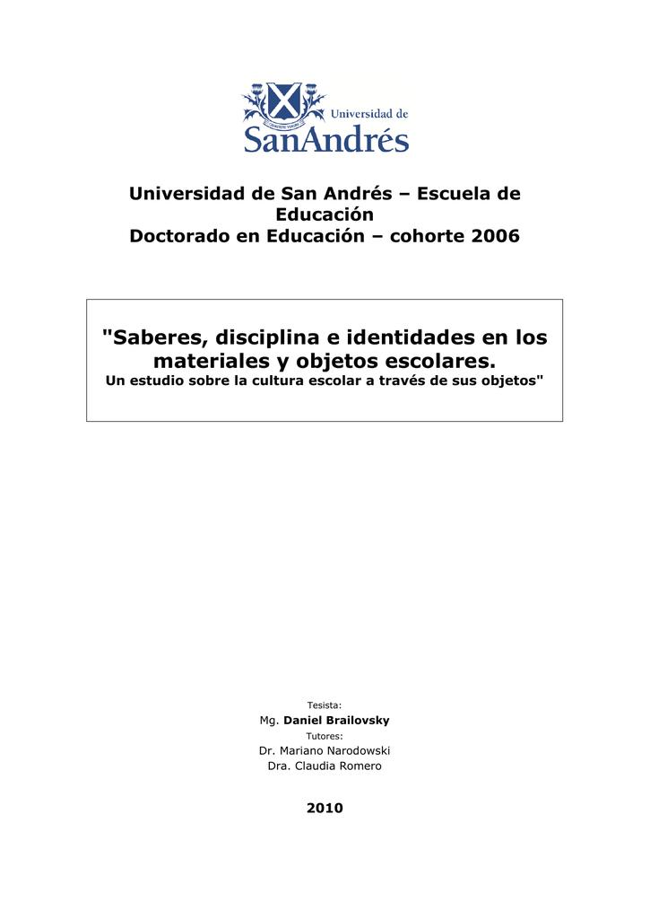 P] [W] D.Edu. Brailovsky, Daniel
