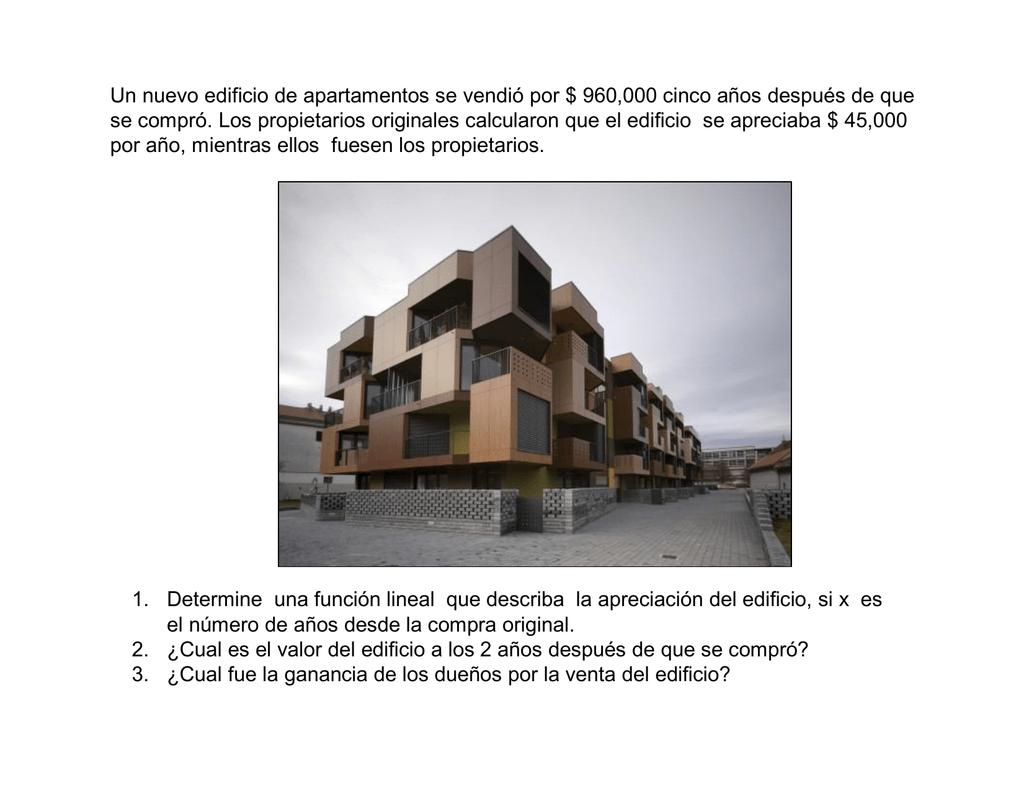 Un Nuevo Edificio De Apartamentos Se Vendi Por 960000 Cinco