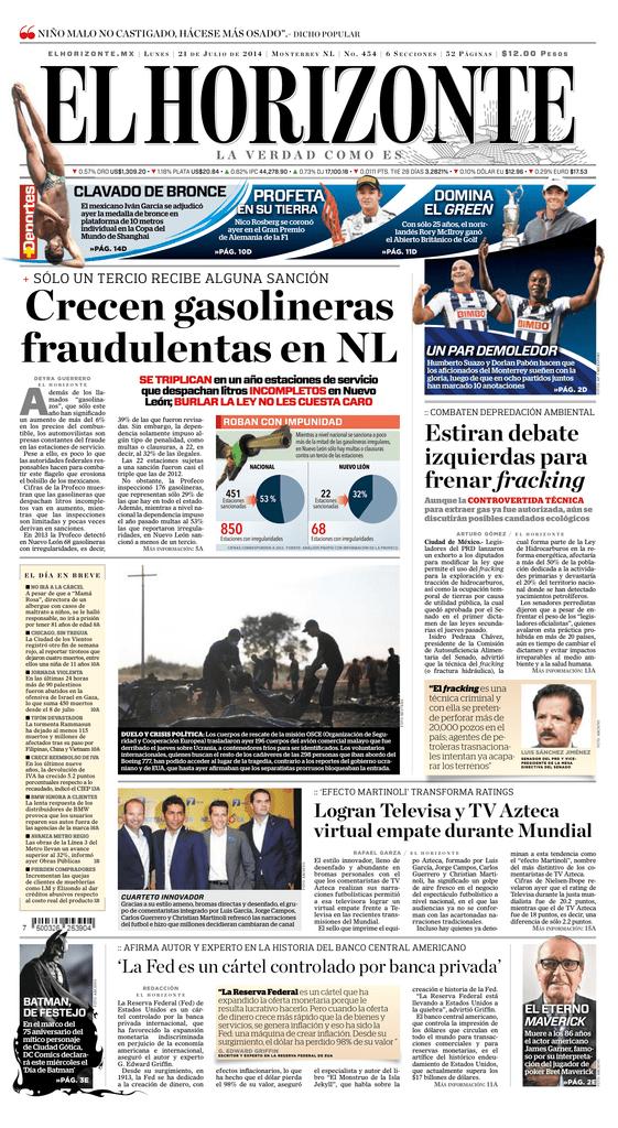 4f6f54d2a Crecen gasolineras fraudulentas en NL