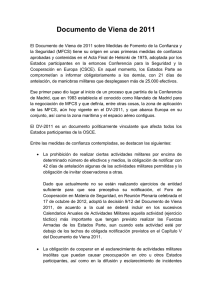 Documento de Viena de 2011