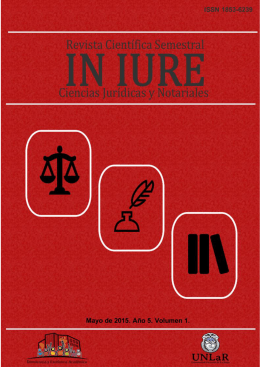Revista IN IURE - Portal de Revistas Electrónicas de la Universidad