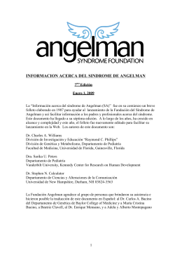 sindrome de angelman_3_29_10 - Angelman Syndrome Foundation