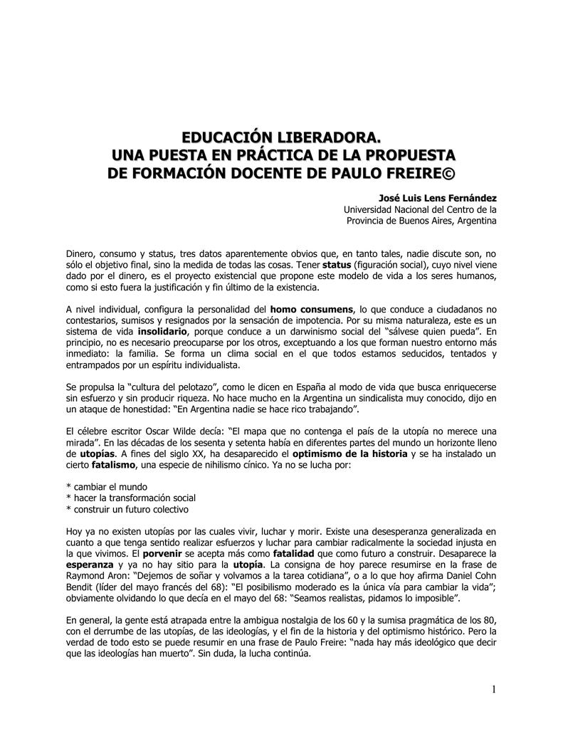 Educacion Liberador Facultad De Estudios Generales
