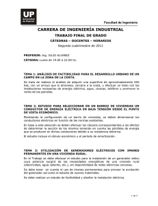 CARRERA DE INGENIERÍA INDUSTRIAL