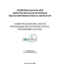 EXISTING CCNA INSTRUCTOR INFORMATION