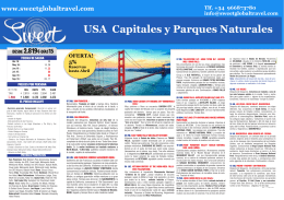 USA Capitales y Parques Naturales
