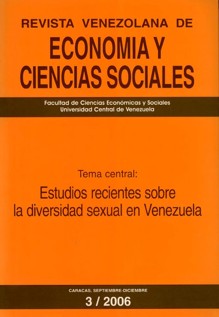 economia y ciencias sociales - Universidad Central de Venezuela