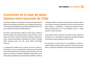 Conversión Base de Datos