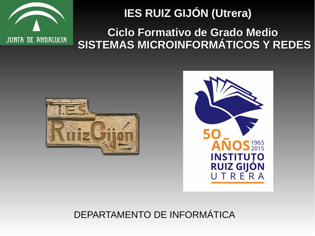 Ies Ruiz Gijón Utrera Ciclo Formativo De Grado Medio