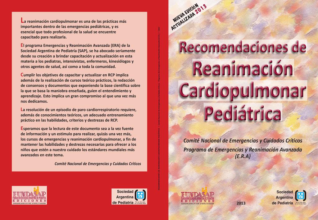 Recomendaciones de Reanimación Cardiopulmonar 2013