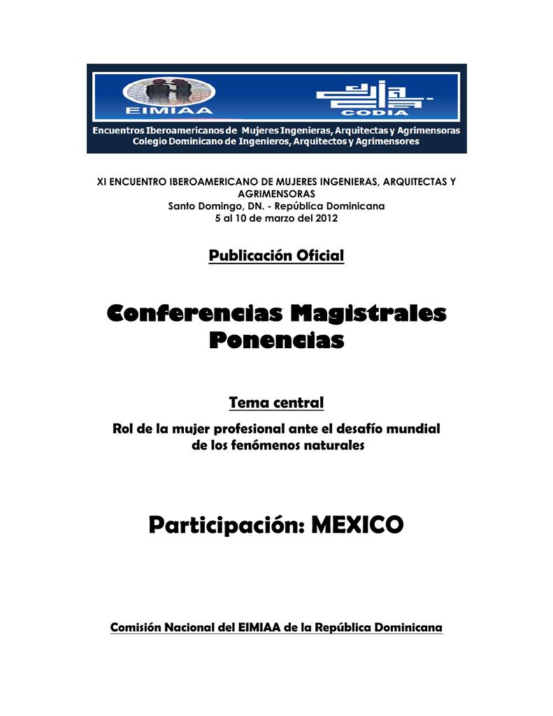 Participación: MEXICO - Meteorología, Clima y Desastres