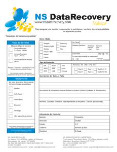 Formulario - NS Data Recovery