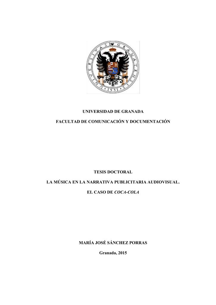 universidad de granada facultad de comunicación y documentación