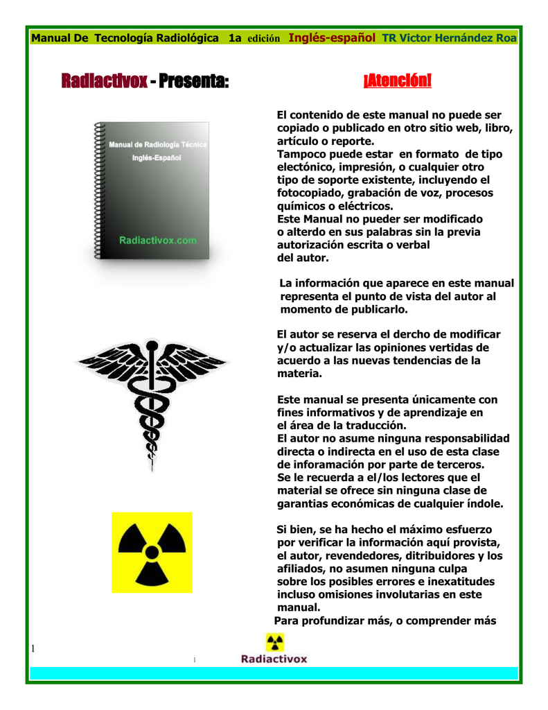 Radiactivox - Presenta
