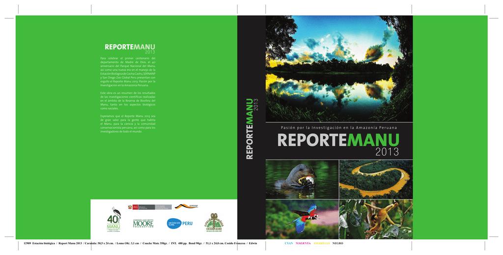 reportemanu - Cocha Cashu Biological Station