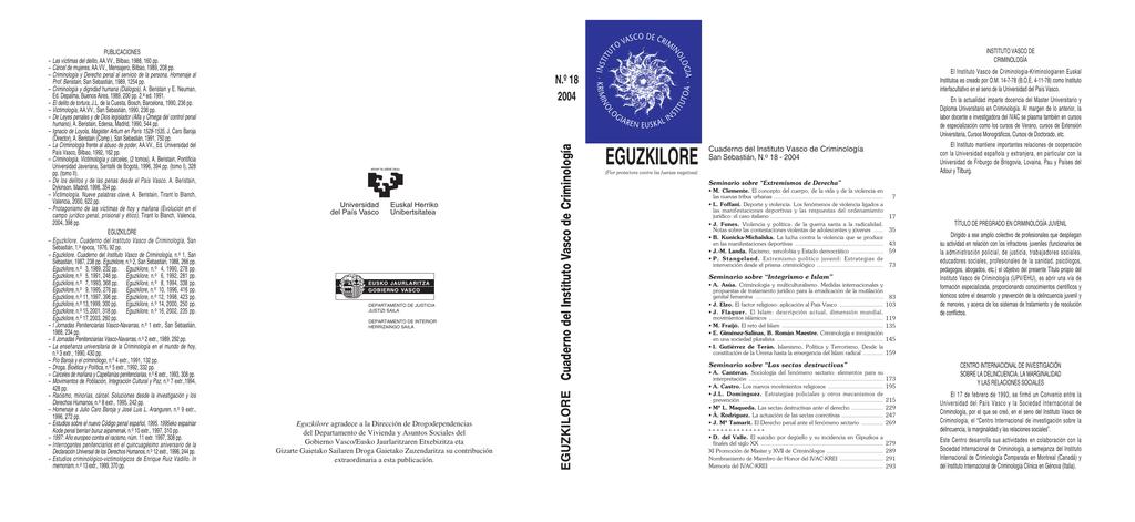 Descargar la revista completa - University of the Basque Country