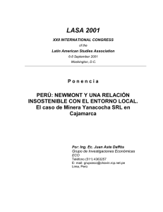 Aste Daffós, Juan - Latin American Studies Association