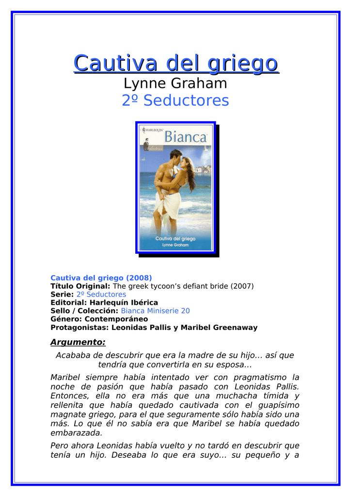 cautiva del griego lynne graham