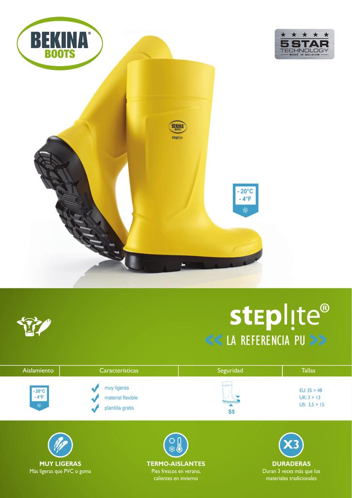 folleto Steplite