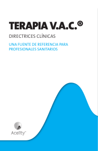 terapia v.a.c.® directrices clínicas