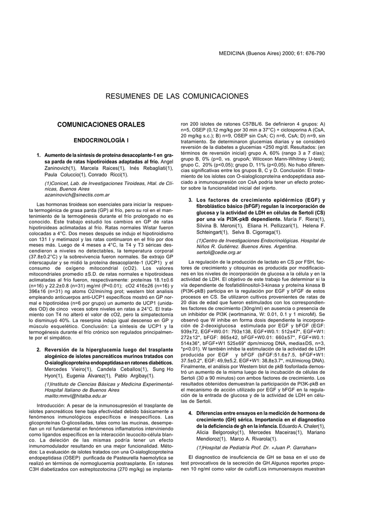 676 - Medicina Buenos Aires