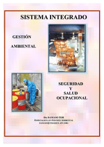 Sistema Integrado de Gestion Ambiental y Segur