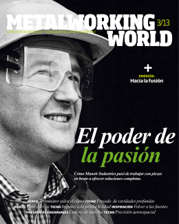 Metalworking World 3/2013