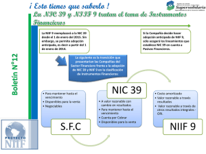 SFC NIIF 9 - Supersolidaria