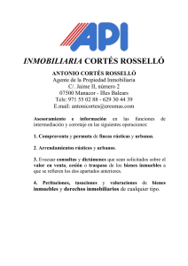 inmobiliaria cortés rosselló