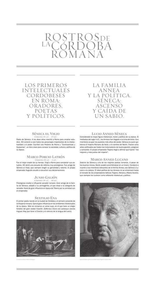 Rostros de la Córdoba Romana`.