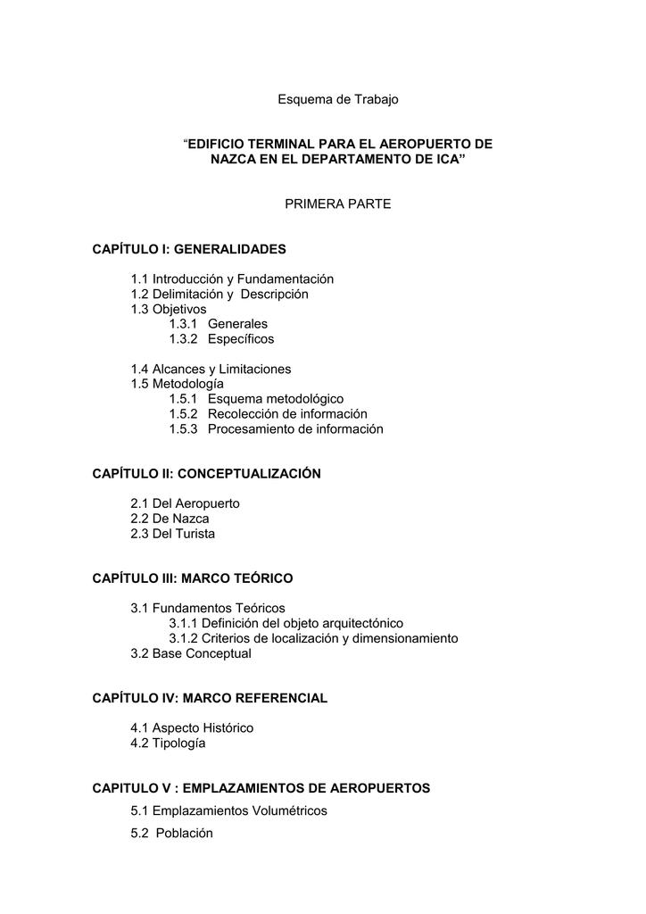 Esquema de Trabajo - Repositorio Académico UPC