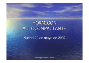 HORMIGON AUTOCOMPACTANTE