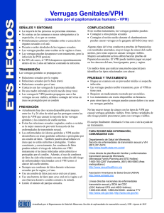STD Fact Sheets - Spanish: MN Dept of Health