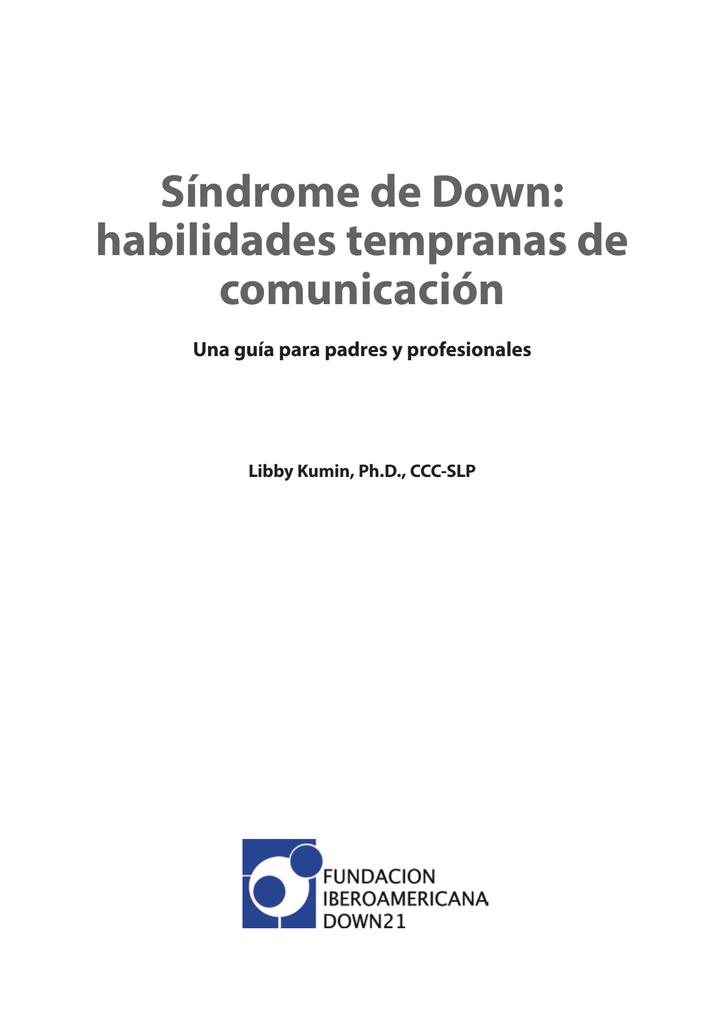 Síndrome DownHabilidades De Tempranas DownHabilidades Síndrome Comunicación Comunicación De Síndrome Tempranas 76ybfgY