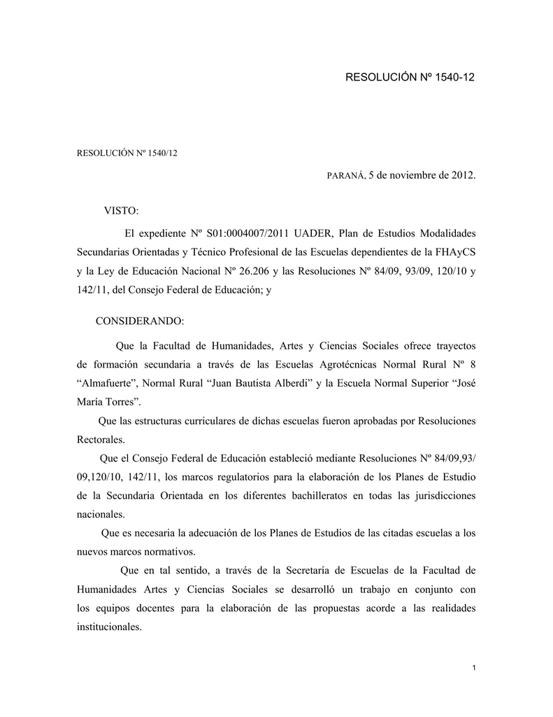 Hermosa Plan De Estudios De La Escuela Secundaria Modelo - Ejemplo ...