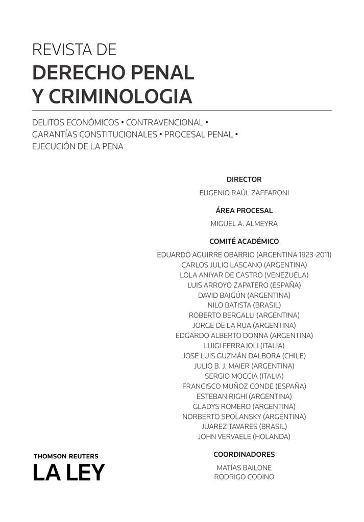 esta - Revista Pensamiento Penal