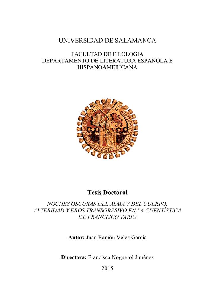 9c76beaa57d1 UNIVERSIDAD DE SALAMANCA Tesis Doctoral