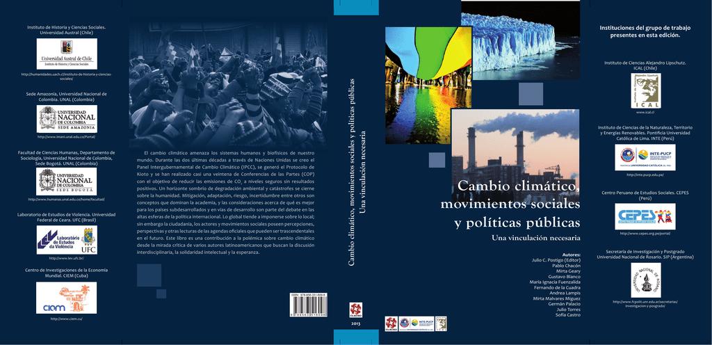 Calendario Academico Ucm 2020 2020.Cambio Climatico Movimientos Sociales Y Politicas Publicas Una