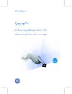 Storm - GE Healthcare Life Sciences