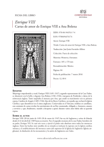 Enrique VIII - Editorial Confluencias