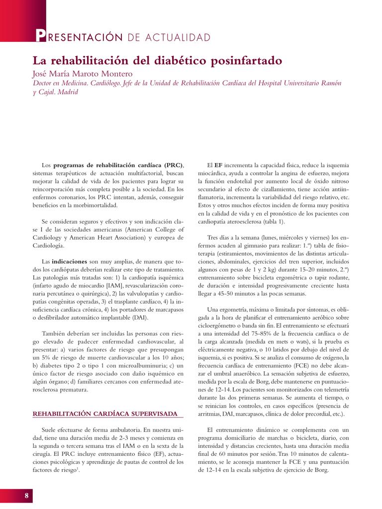 pautas de entrenamiento de resistencia para la diabetes tipo 2
