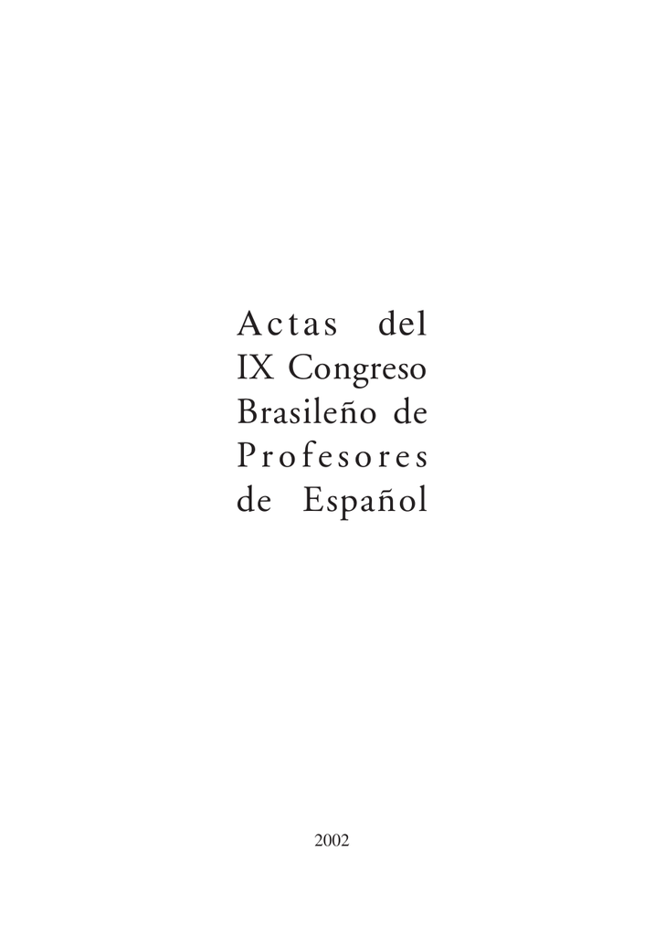 Actas Ix Congresop65 Ministerio De Educación Cultura Y