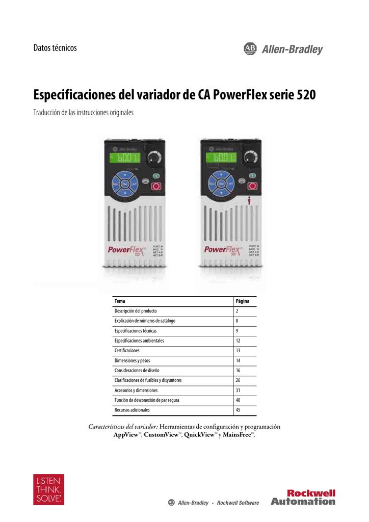 Variador Powerflex 525