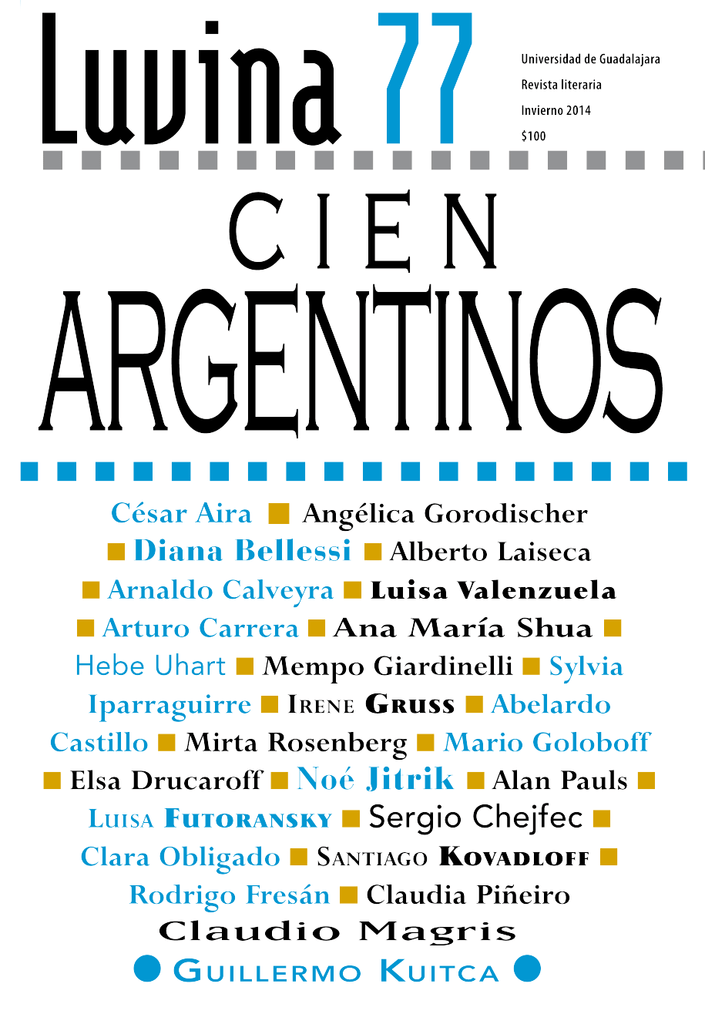 25ae7c8f644d3 U n i v e r s i d a d d e G ua d a l a j a r a Cien Argentinos