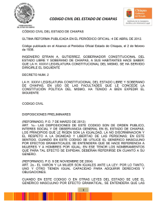 codigo civil del estado de chiapas